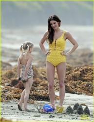 "Ashley Greene - On the set of ""The Shangri-La Suite"" in LA 3/7/14"
