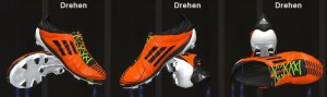 adizero F50 2011 Orange by Ron69 [2 versions]
