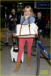 Cameron Diaz - At LAX Airport 3/7/14