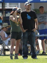 Britney Spears - At her son's Soccer game in Calabasas 3/9/14