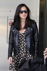 Olivia Munn - At LAX Airport 3/9/14