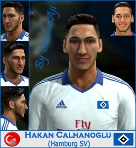 Download Hakan Calhanoglu HQ Face By santanAji