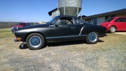 1970 Ghia, aka Black Dahlia, or the Batmobile 8f37ae313633677