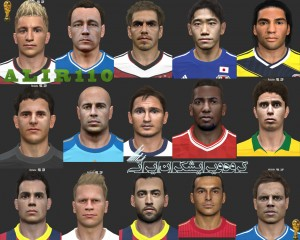 Download PES2014 WC Face Pack by A L I R 1 1 0
