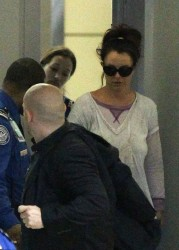 Britney Spears - At LAX Airport 3/13/14