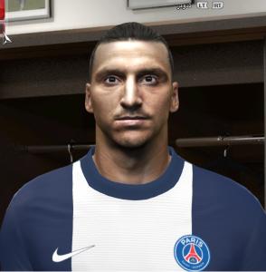 Download Zlatan Ibrahimović Face By DzGeNiO