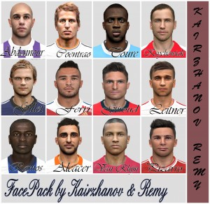 Download PES 2014 Facepack by Kairzhanov and Remy