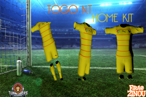 Download PES 2014 Togo N.T. Home Kit by Firas Zinou