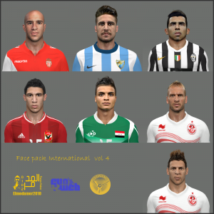 Download PES 2014 International Facepack vol. 4 by Elmodamer