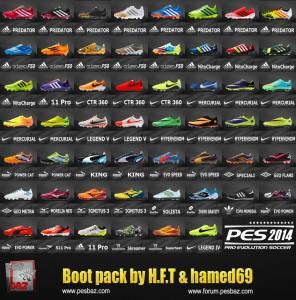 Download PES 2014 Bootpack by H.F.T & hamed69