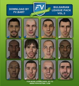 Download FIFA 14 Bulgarian League Facepack vol.3 by FV.Bart
