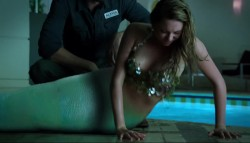 Kate Todd as a mermaid - Lost Girl S04E10 1080p