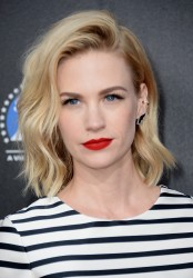 January Jones - Rebels with a Cause Gala in Hollywood 3/20/14