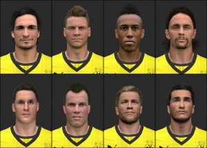 Download Borussia Dortmund Facepack v1 by Tunizizou