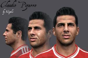 Download PES 2014 Claudio Pizarro Face by Vangelis