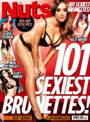 Nuts Magazine - 101 Sexiest Brunettes! (March 2014) UK