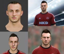 FIFA 14 Josip Drmic Cyberface by assistmachine