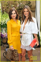 Alessandra Ambrosio - Christian Louboutin Passage handbag collection launch party in LA 3/25/14
