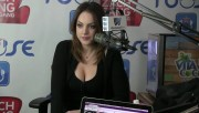 Elizabeth Gillies very busty - Zach Sang Interview 720p