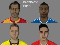 FIFA14 1st' Facepack by Nizamawesome13