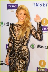 Shakira - 2014 Echo Music Awards in Berlin 3/27/14