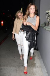Hilary Duff | Crossroads Restaurant Los Angeles CA | 03/28/14