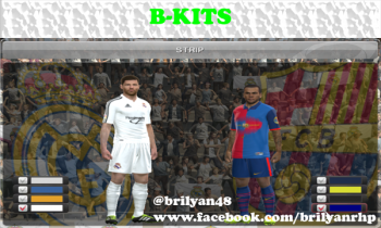 Download Barca and R. Madrid Retro kit by B-Kits