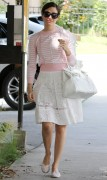 Emmy Rossum - leaving Nine Zero One Salon n West Hollywood - 03/27/14