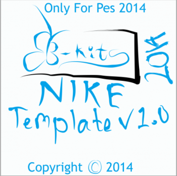 Download Nike Kit Template Pes14 by B-KITS