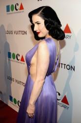 Dita Von Teese - MOCA's 35th Anniversary Gala in LA 3/29/14