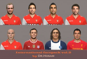 Download PES 2014 International face Pack vol.2 by dr.hosam
