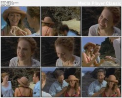 LAUREN HOLLY - bikini on the beach (vhs)