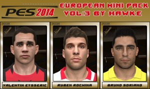 Download PES 2014 European Mini Pack Vol. 4 by Hawke