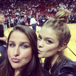 Nina Agdal - Instagram/Twitpic - March 2014