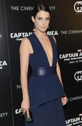 "Cobie Smulders - ""Captain America: The Winter Soldier"" Screening in NYC 3/31/14"