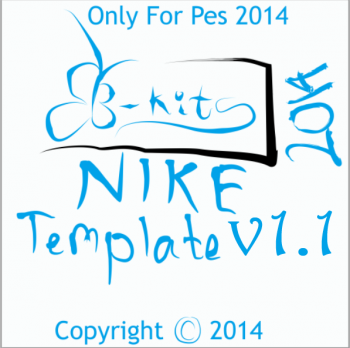 Download Pes 2014 Template kit v1.1 by B-Kits