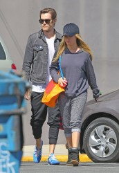 Ashley Tisdale - Shopping in Studio City 4/1/14