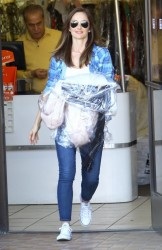 Minka Kelly - Shopping in Studio City 4/1/14