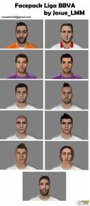 FIFA 14 Facepack Nº 5 By JosueLMM - LIGA BBVA