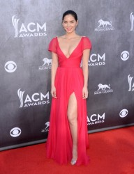 Olivia Munn - 2014 ACM Awards  in Las Vegas 4/6/14 *ADDS*