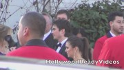 Nina & Ian Arrive to Elton Johns Oscar Viewing Party (February 24) 7da595319330597