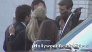 Nina & Ian Arrive to Elton Johns Oscar Viewing Party (February 24) D33e3c319330777