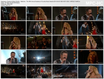 Shakira & Blake Shelton - Medicine - The 49th Annual Academy of Country Music Awards-2014-04-06 1080i HDTV DD5.1
