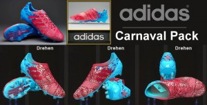 Download Adidas Nitrocharge 1.0 Carnaval TRX FG - Berry/Blue