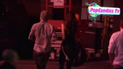 Nina & Derek Hough Holding hands while hiding from Paparazzi at The Roosevelt LA (October 5) B9c87e319508038