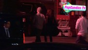 Nina & Derek Hough Holding hands while hiding from Paparazzi at The Roosevelt LA (October 5) Fe4ce4319508072