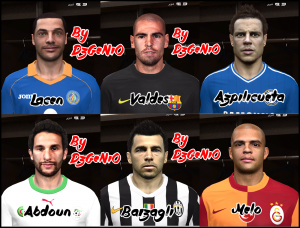 Download PES 2014 Facepack N°15 By DzGeNiO