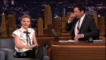 CHLOE MORETZ - The Tonight Show 04.07.14