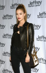 Nina Agdal - Jeffrey Fashion Cares Event in NYC 4/8/14