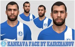 Download PES 2014 Kankava Face by Kairzhanov